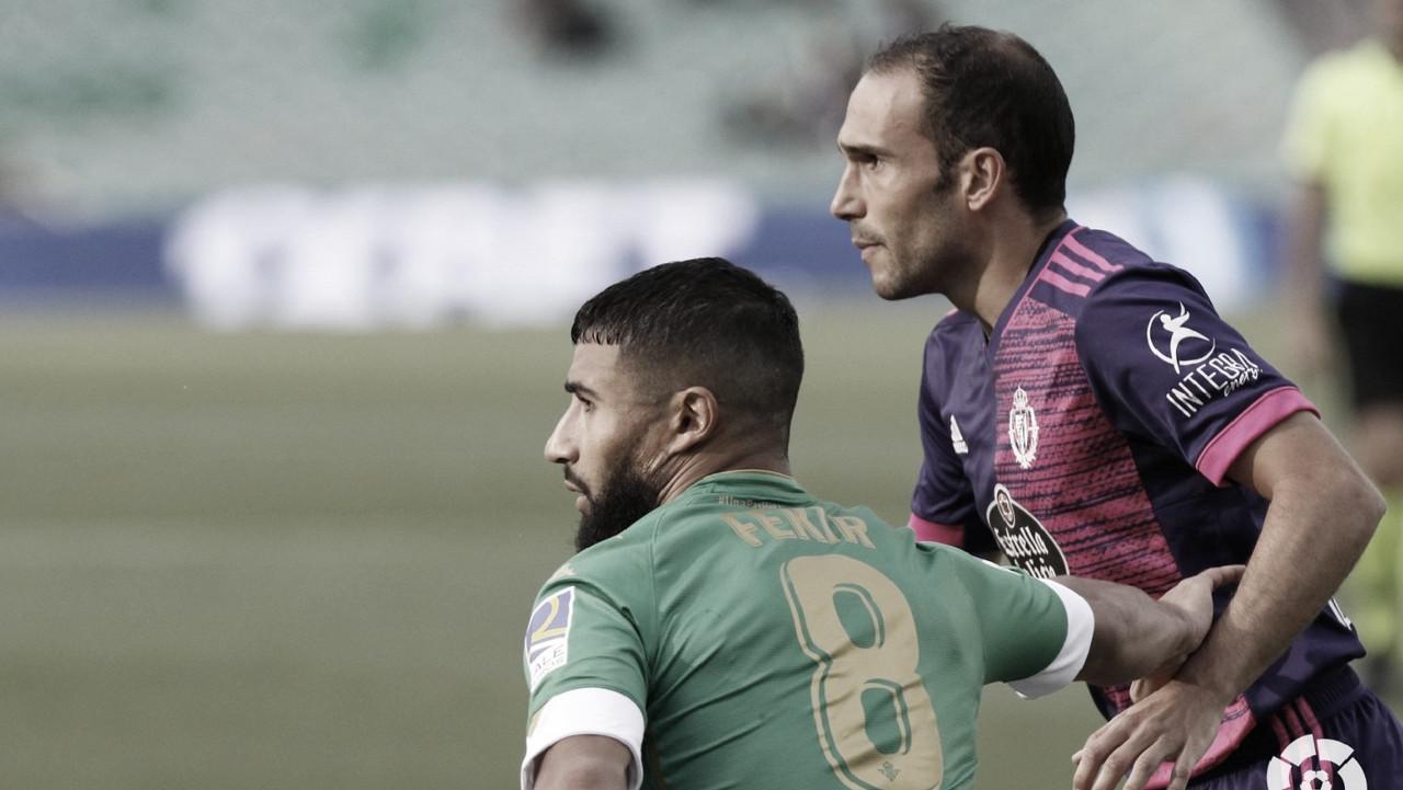 """Sergio González: """"No parecíamos el Real Valladolid"""""""