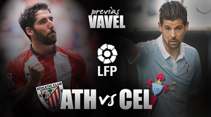 Athletic Club - Celta de Vigo: jugamos. Disfrutaremos