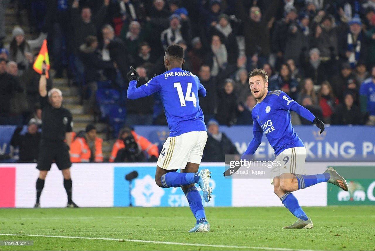 Leicester City 2-1 Everton: Late VAR drama sees Iheanacho score winner