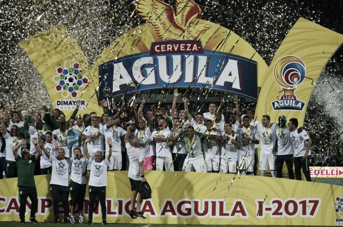 Atlético Nacional fue el mejor campeón de América en 2017