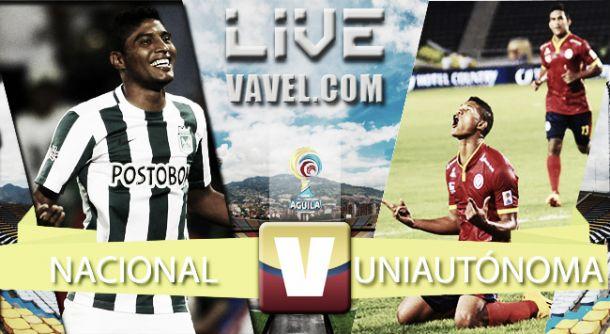 Resultado Atlético Nacional - Uniautónoma (4-0)