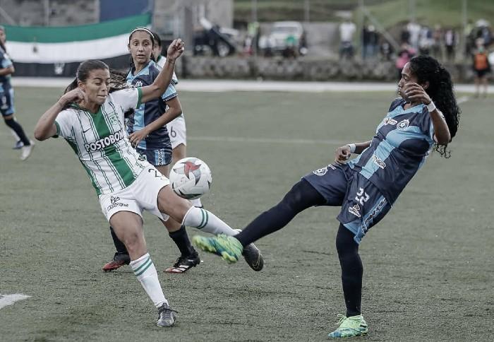 Nacional empató con Real San Andrés y complicó su clasificación en la Liga Femenina BetPlay