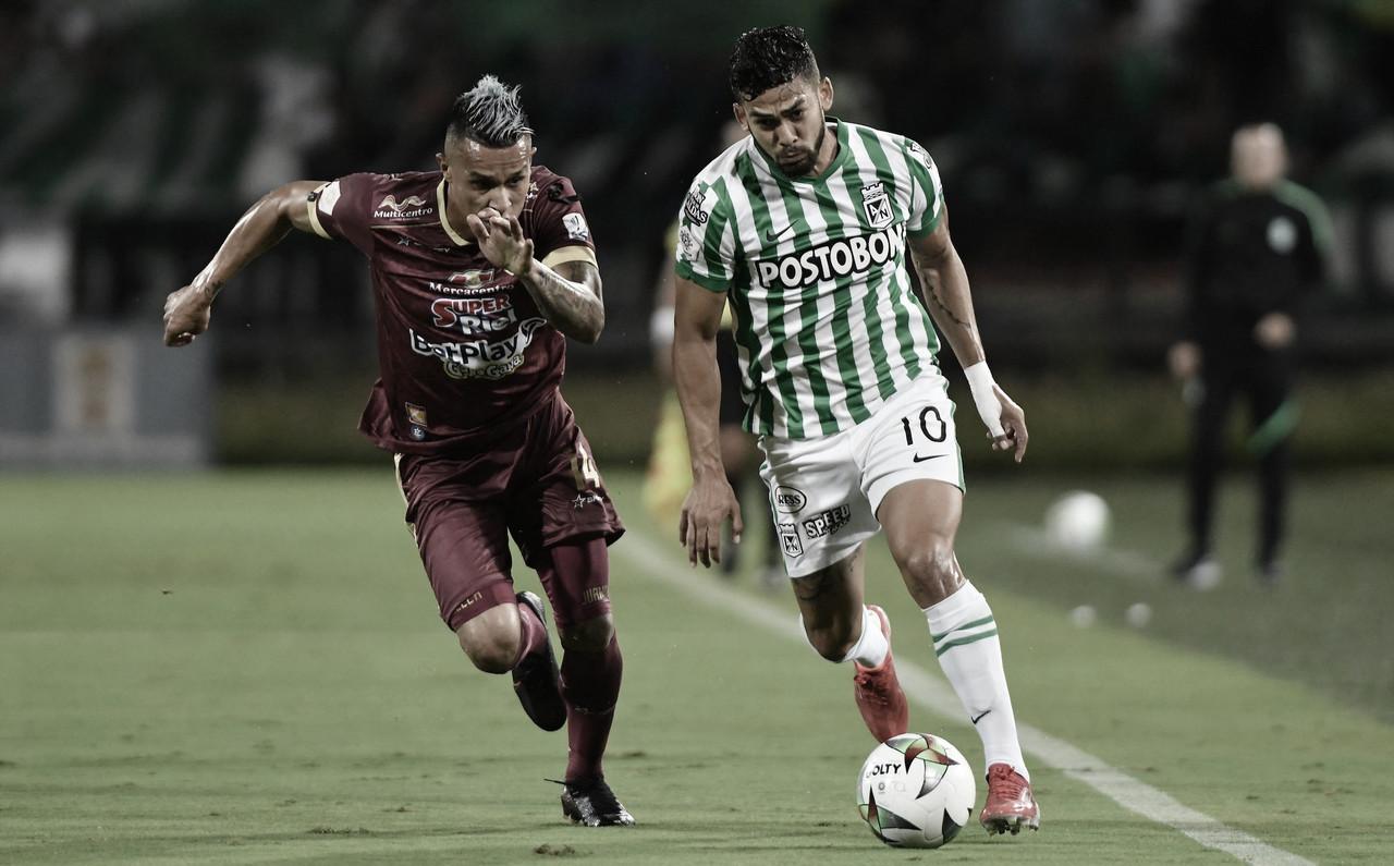 Andrés Andrade, el más destacado de la victoria de Nacional sobre Tolima