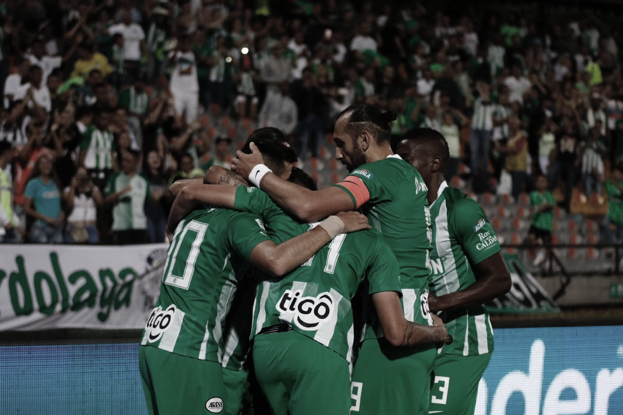Atlético Nacional y una 'feria' de goles ante el Huila