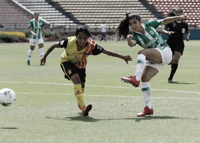 Atlético Nacional goleó al Deportivo Pereira que se despide de la Liga Femenina