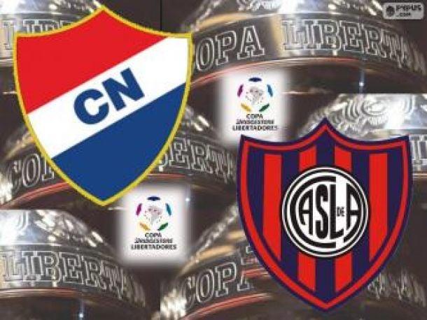 Resultado Nacional de Paraguay - San Lorenzo de Almagro por la Copa Libertadores 2014 (1-1)