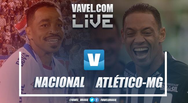Nacional x Atlético-MG online AO VIVO pela Libertadores (1-0)