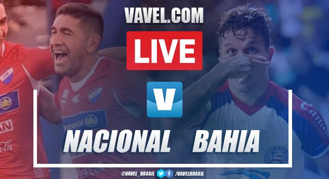 Gols e melhores momentos de Nacional-PAR 1 x 3 Bahia pela Copa Sul-Americana 2020