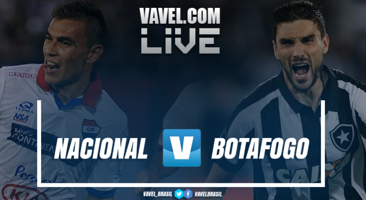 Resultado Nacional-PAR 2 x 1 Botafogo pela Copa Sul-Americana 2018