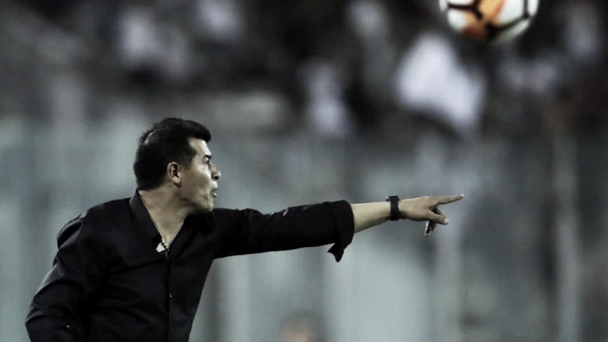 """Jorge Almirón: """"El partido no fue fácil, el equipo lo hizo ver así"""""""