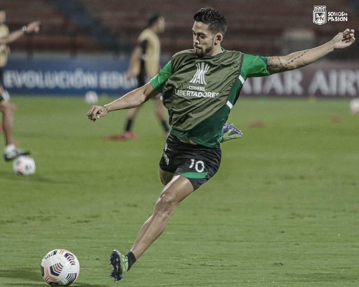 Andrés 'Rifle' Andrade, la figura en la clasificación de Nacional a la fase de grupos