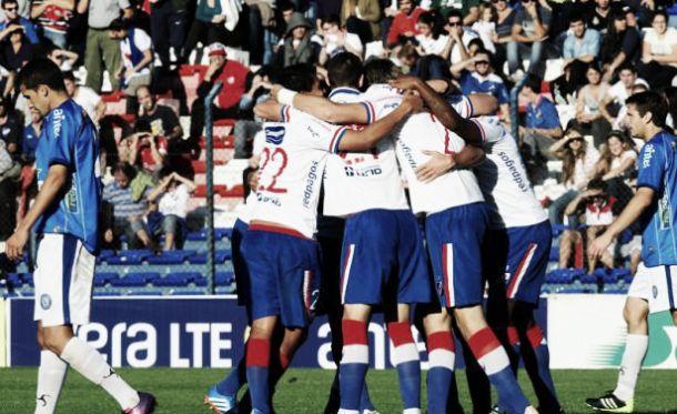Nacional cruzó el Cerro Largo con goleada y espera por Peñarol