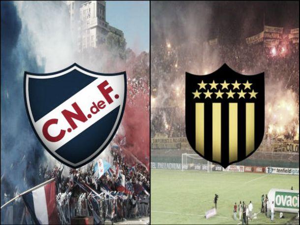 Resultado Peñarol - Nacional en la Copa Bandes (0-1)
