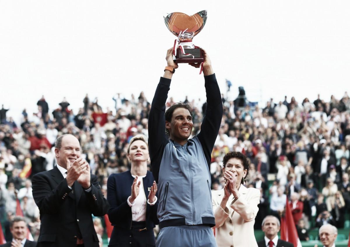 Rafael Nadal no tiene límites: en Montecarlo superó dos nuevos records