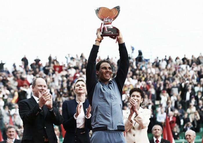 ATP Monte Carlo: Rafael Nadal outlasts Gael Monfils to win ninth Monte Carlo Rolex Masters