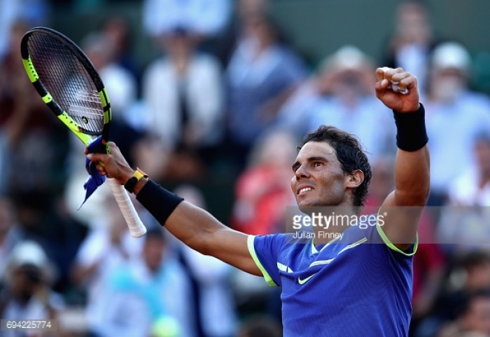 French Open 2017: Ruthless Nadal sweeps past Thiem in one-sided semi-final