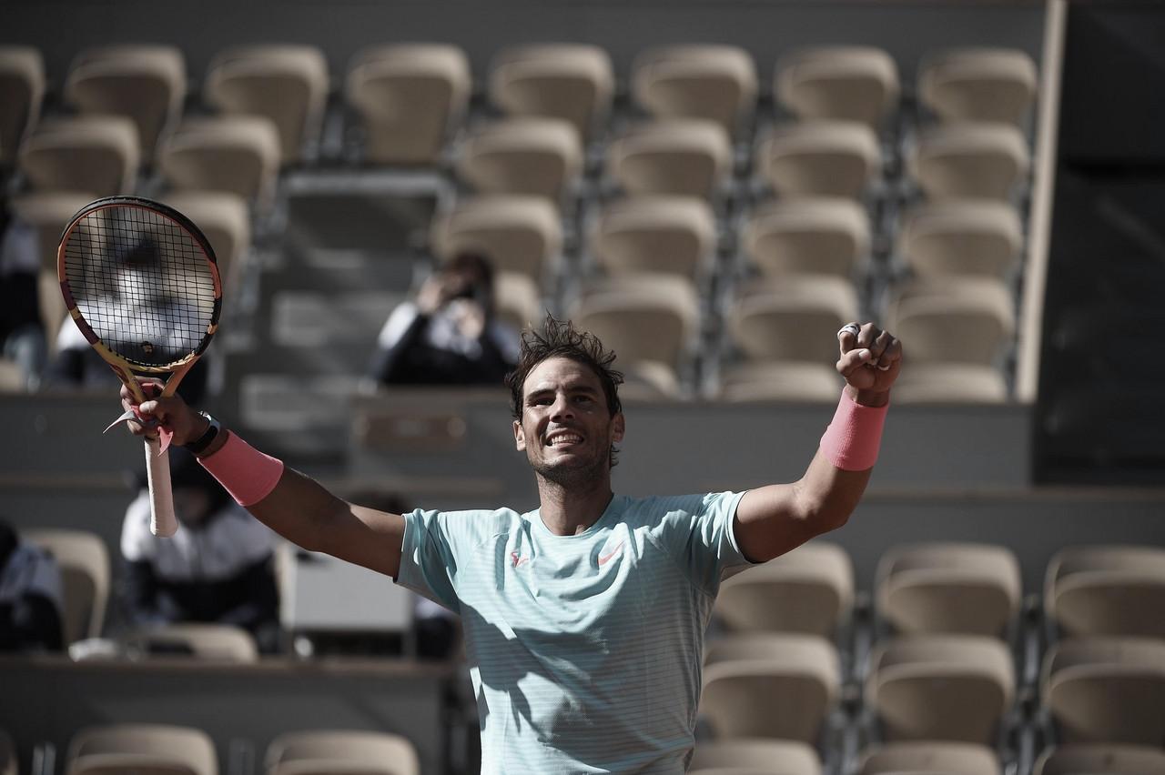 Nadal não toma conhecimento de Korda e avança em Roland Garros