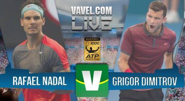 Rafael Nadal x Grigor Dimitrov no Masters 1000 de Madri(2-0)