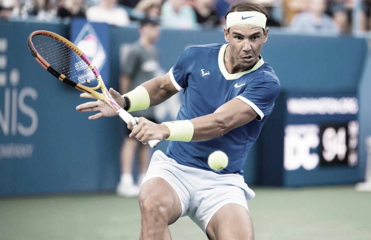 Nadal cai para Harris em Washington e perde terceira posição no ranking da ATP