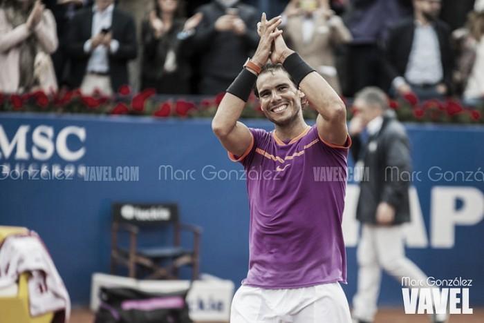 Rafael Nadal confirma una participación más en Barcelona