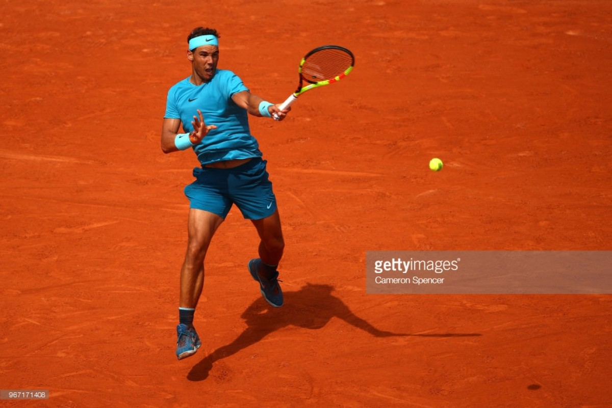 2018 French Open: Nadal reaches the quarter-finals without dropping a set after defeating Maximilian Marterer