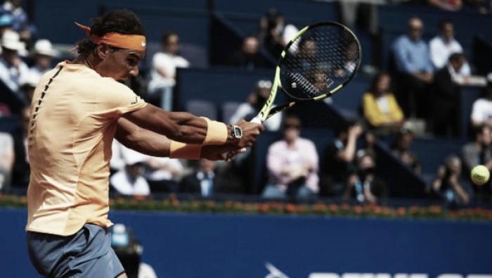 Atp Barcellona, tutto facile per Nadal e Nishikori. Fognini rimonta Youzhny