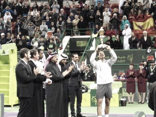 Doha : Monfils a tenté, Nadal tient son rang