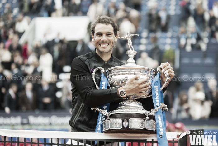 Rafa Nadal tendrá un nuevo trofeo para su museo