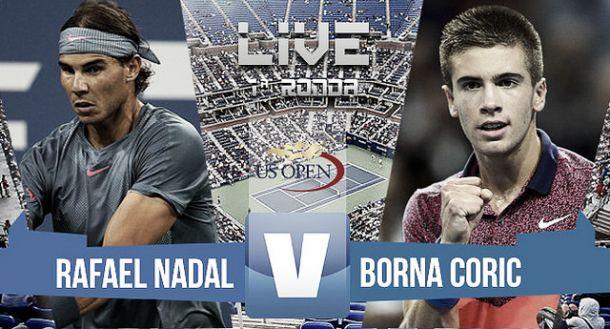 Rafael Nadal vs Borna Coric en vivo y en directo online en US Open 2015 (0-0)