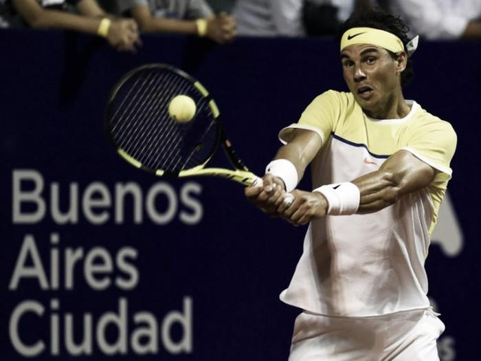 Rafael Nadal vence Paolo Lorenzi e vai as semis em Buenos Aires
