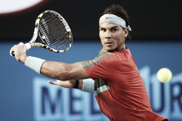 """Rafael Nadal: """"He trabajo muy duro para llegar en las mejores condiciones"""""""