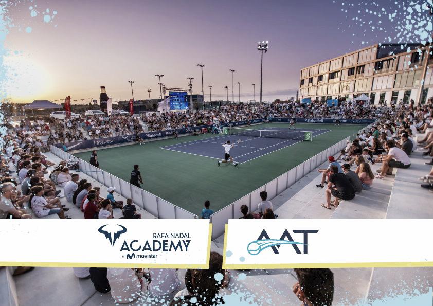 La Asociación Argentina de Tenis llegó a un acuerdo con la Rafa Nadal Academy