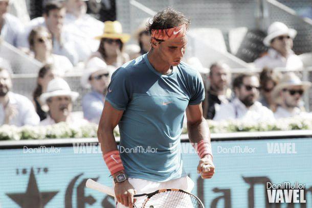 Rafael Nadal, de vuelta en Madrid