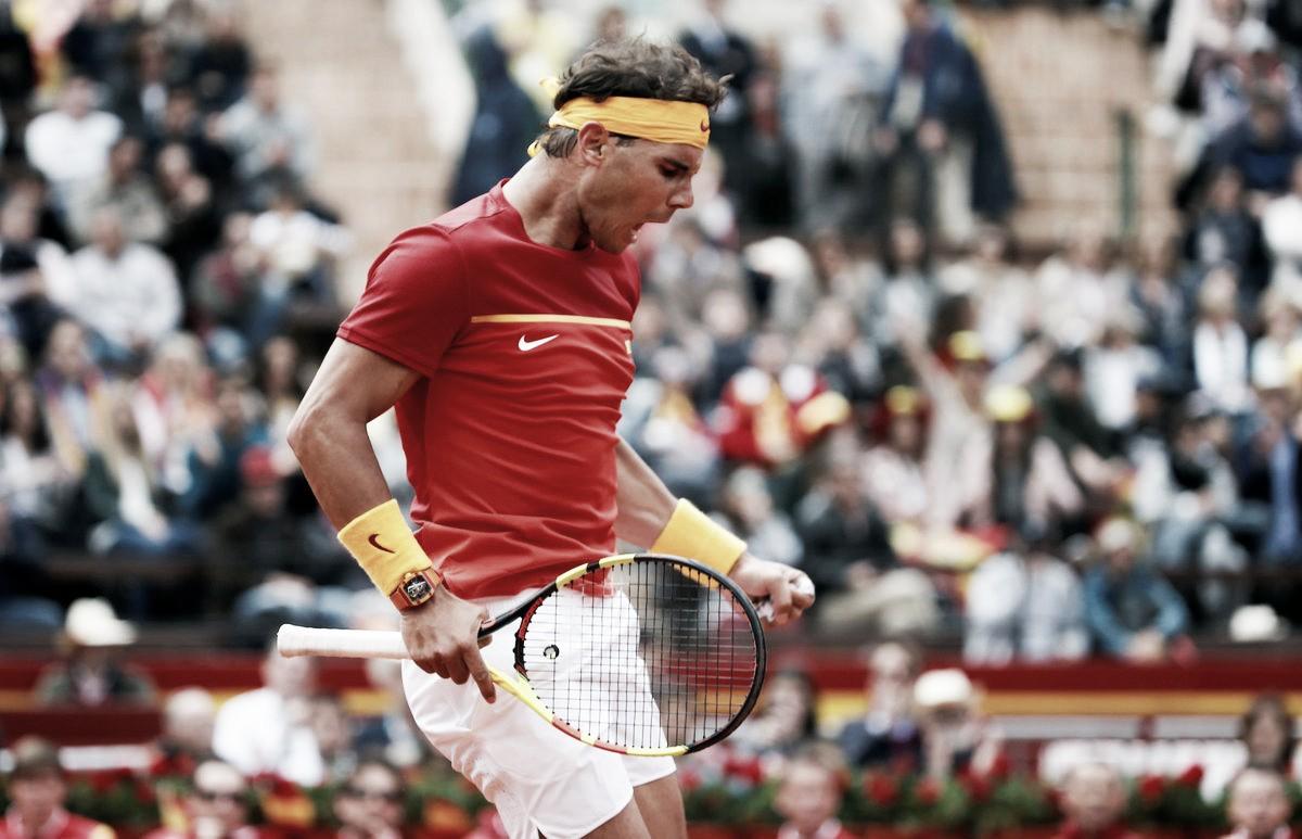 Copa Davis: Nadal derrota Kohlschreiber e empata confronto contra Alemanha