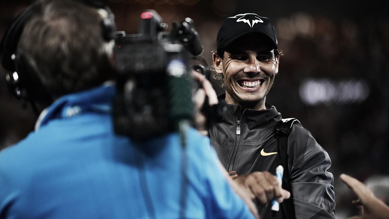 Nadal celebra solidez e consistência após chegar à decisão do Australian Open