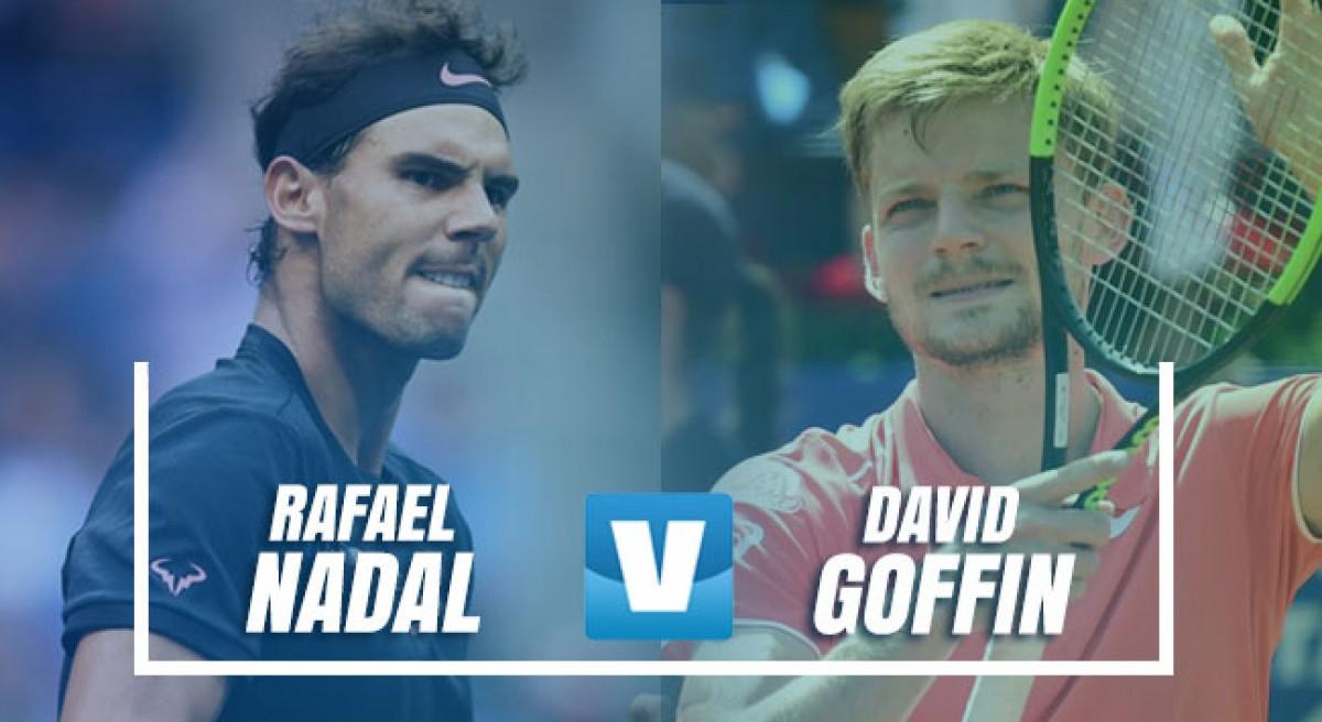 ATP Barcelona: Nadal vs Goffin, en busca de la final