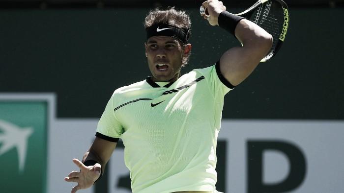 Rafael Nadal debuta a lo grande