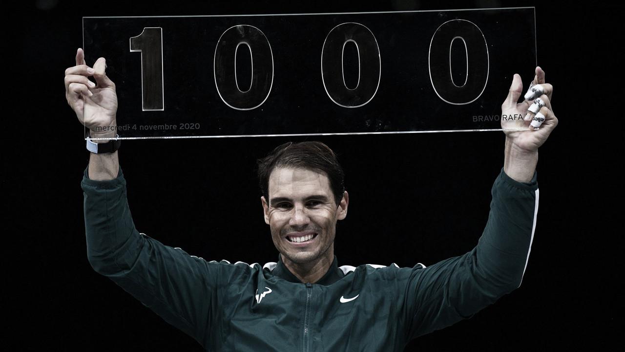 Nadal vence López na estreia em Paris e alcança milésima vitória na carreira