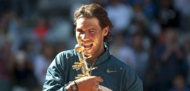 Rafael Nadal sur abandon