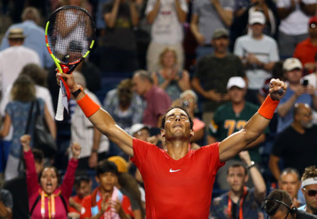 ATP Rogers Cup: Rafael Nadal battles past Stan Wawrinka in late-night shootout