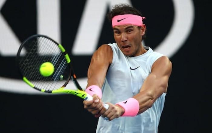 Le journal de l'Australian Open - Day 1 : Pouille dehors, Nadal sans manches..et soucis