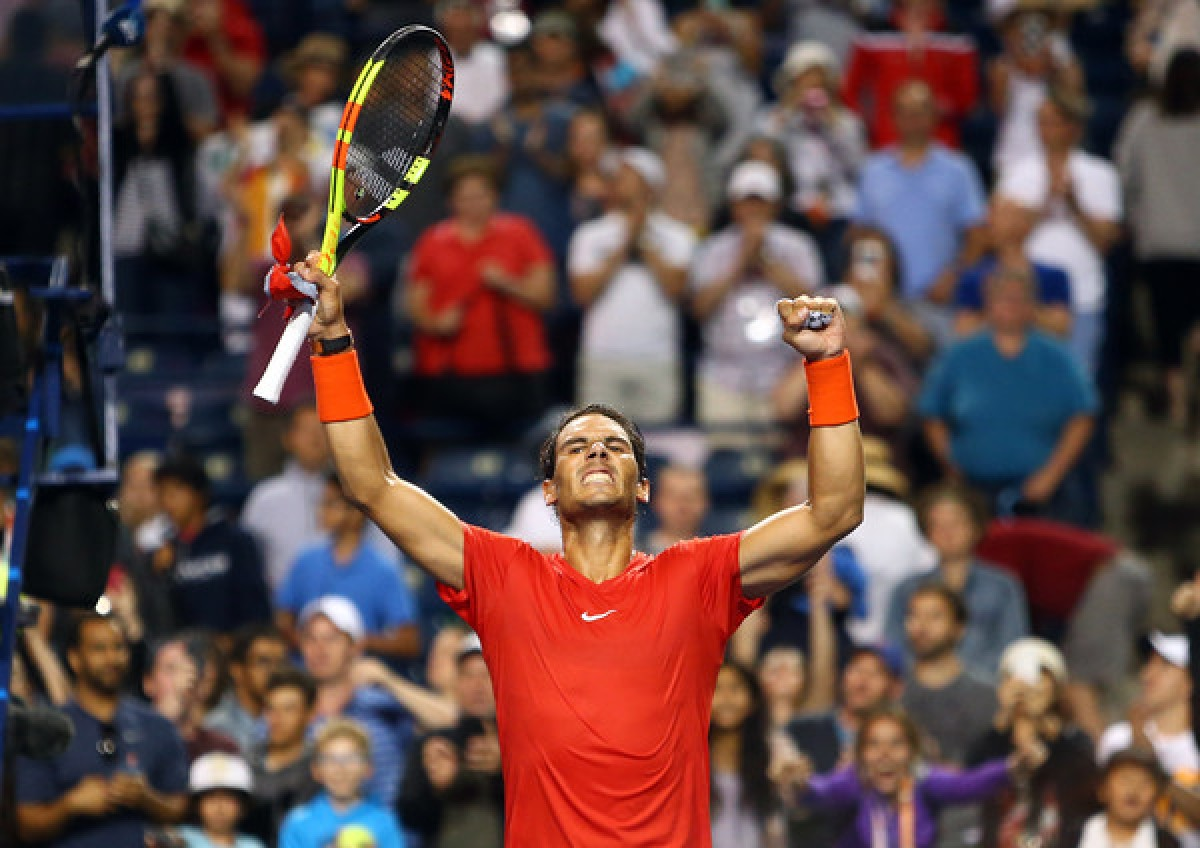 ATP Rogers Cup: Rafael Nadal fights into final