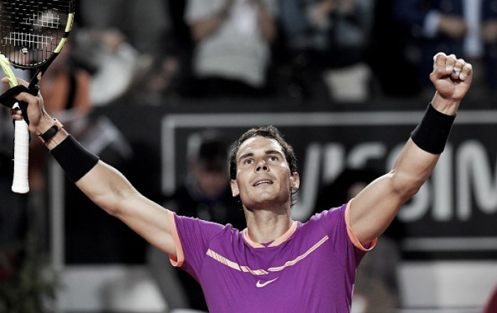 ATP Rome: Rafael Nadal battles past Jack Sock to secure a 17th consecutive win on European clay courts