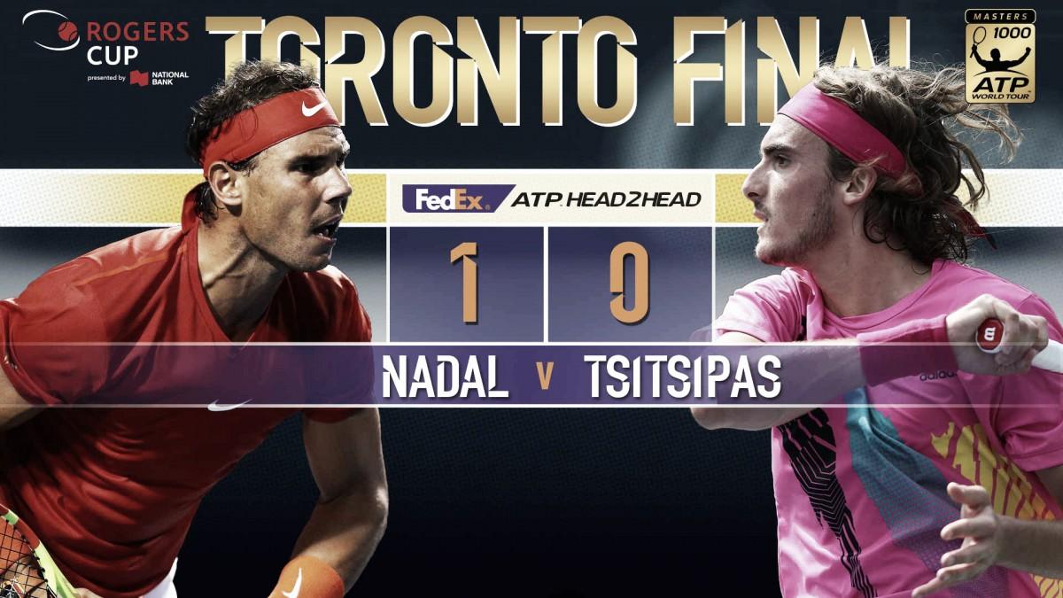 Previa Rafa Nadal - Stefanos Tsitsipas: el número uno contra la sorpresa del torneo