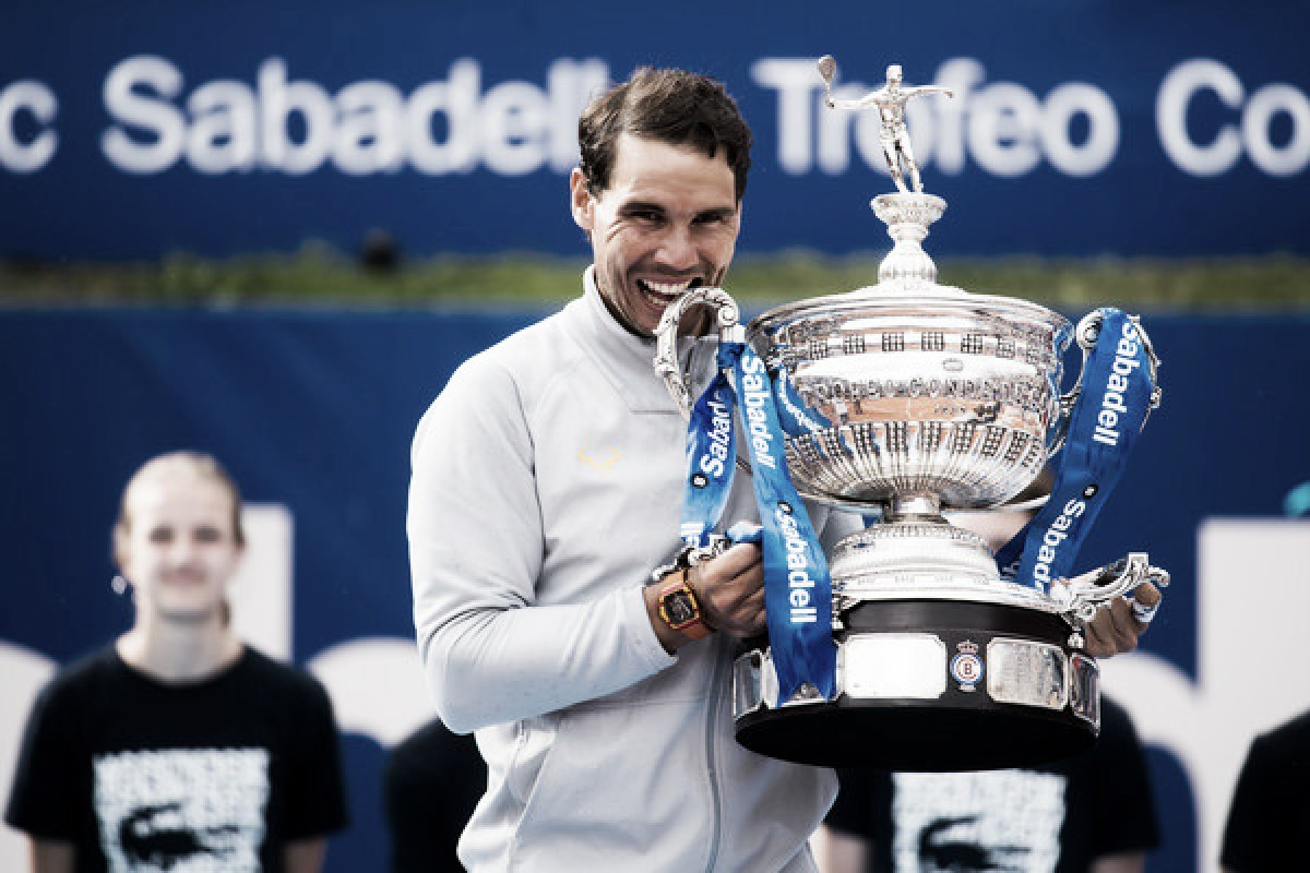 Rafael Nadal wins the Barcelona Open for an 11th time