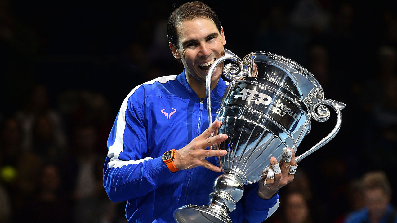 Rafael Nadal clinches year-end number one ranking for fifth time