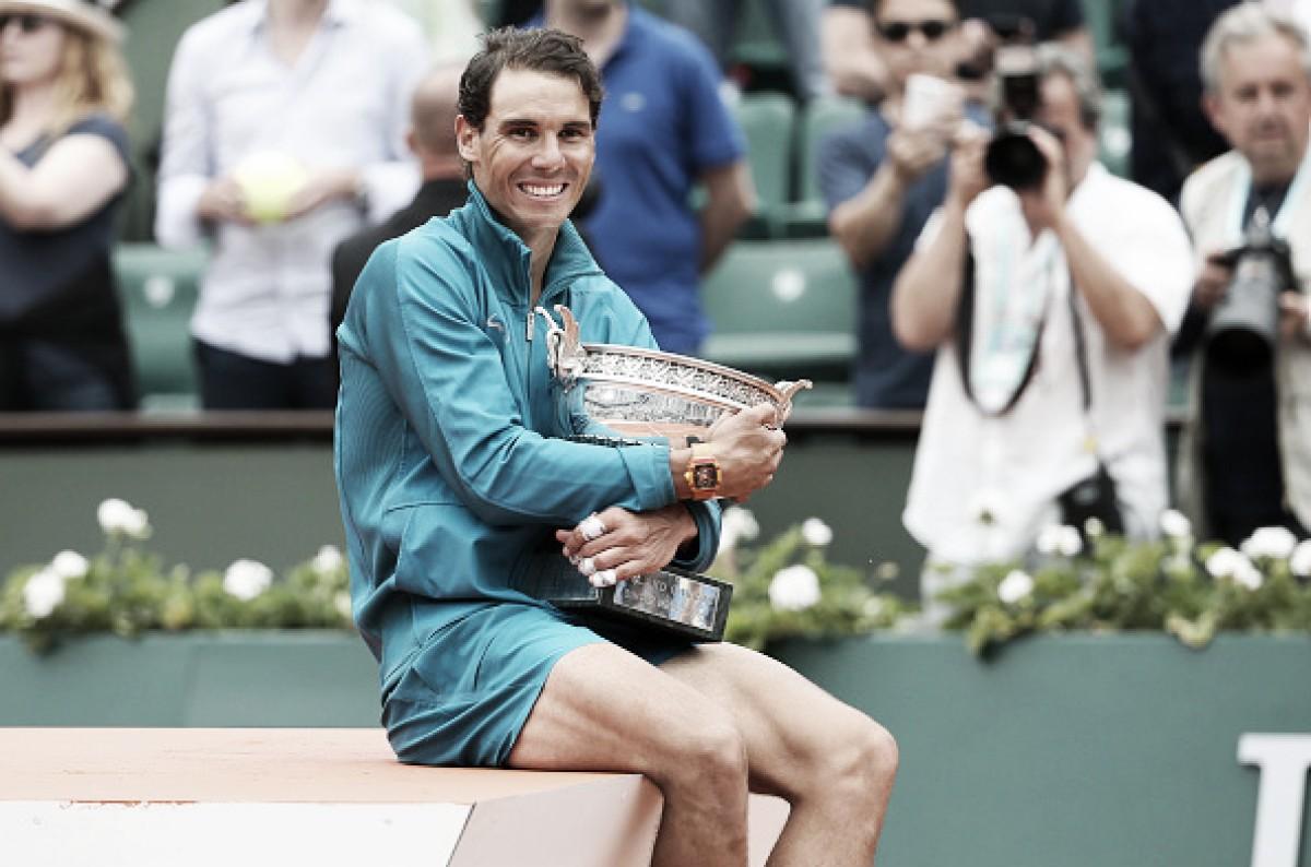 """Rafael Nadal comenta 11ª conquista em Roland Garros: """"É coisa de sonho"""""""