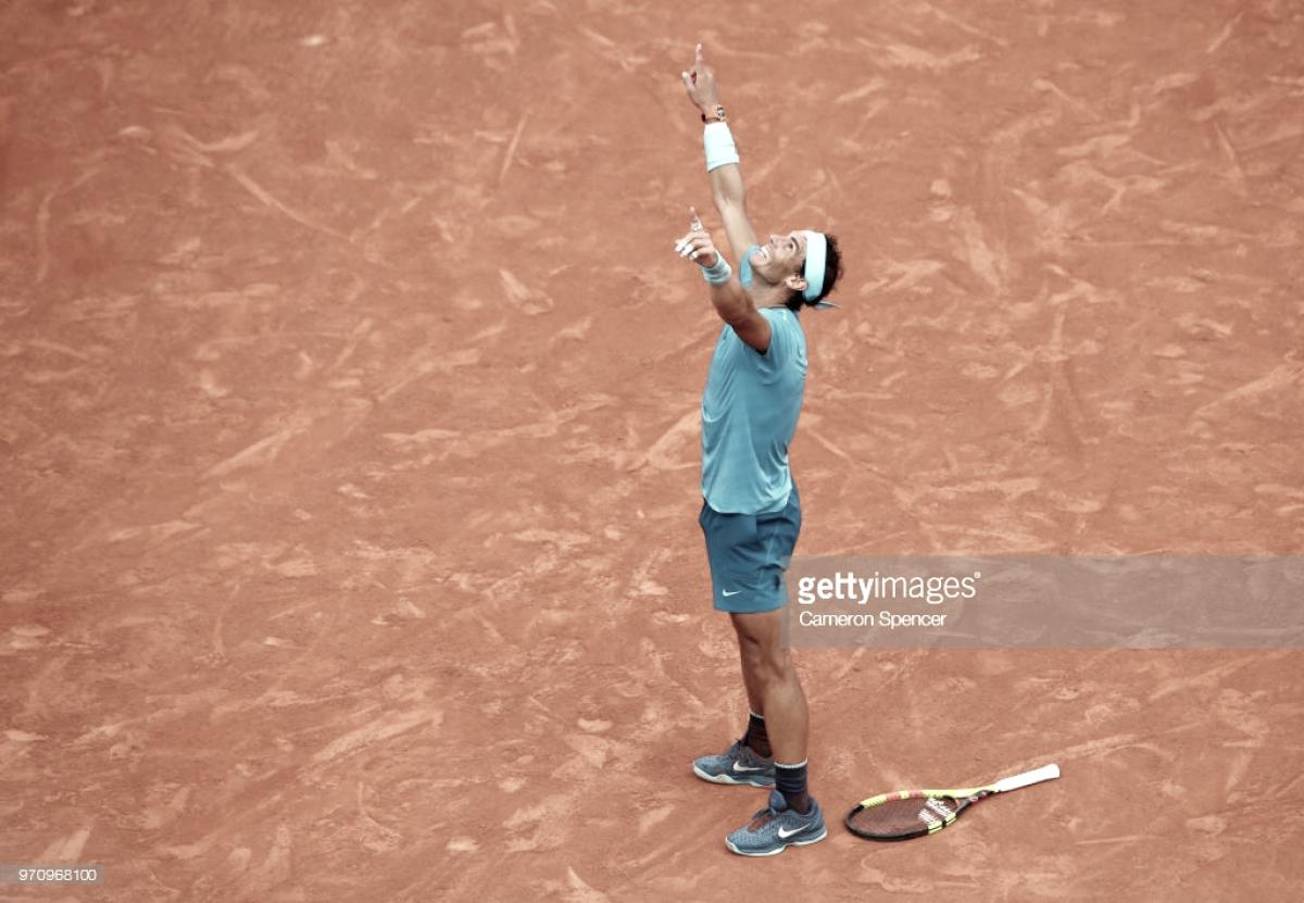 Rafa Nadal vuelve a hacer historia en Roland Garros