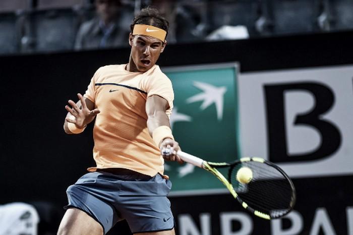 Rafael Nadal bate Kohlschreiber com facilidade e avança no Masters 1000 de Roma