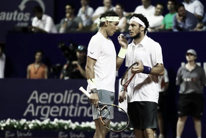 Nadal y Ferrer conocen sus primeros escollos en Buenos Aires